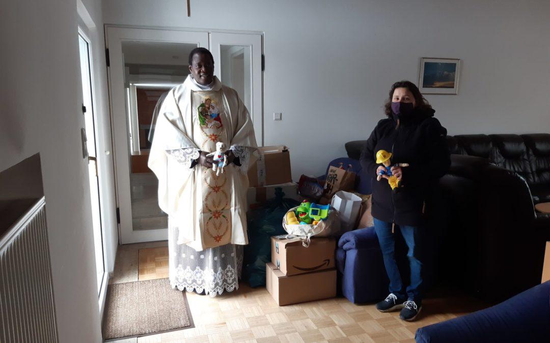 Spielzeugspende für Senegal