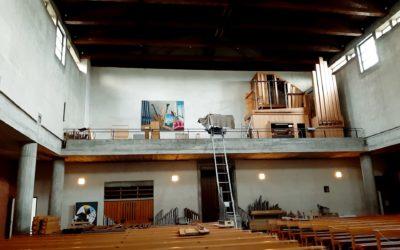 Orgel Renovierung