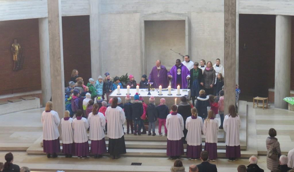 Weihbischof Wörner zu Besuch
