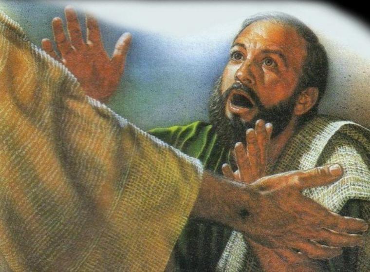 Predigt von Abbé André zum Weißen Sonntag