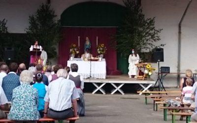 Mariä Himmelfahrt im Freien