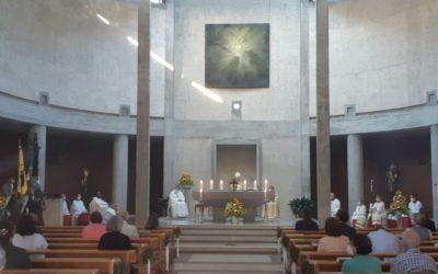 Bischof eröffnet Jubiläumsfeierlichkeiten